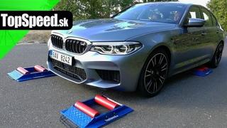 BMW M5 F90 M xDrive 4x4 intelligence test -