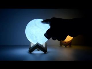 Декоративные сенсорные LED светильники Луна