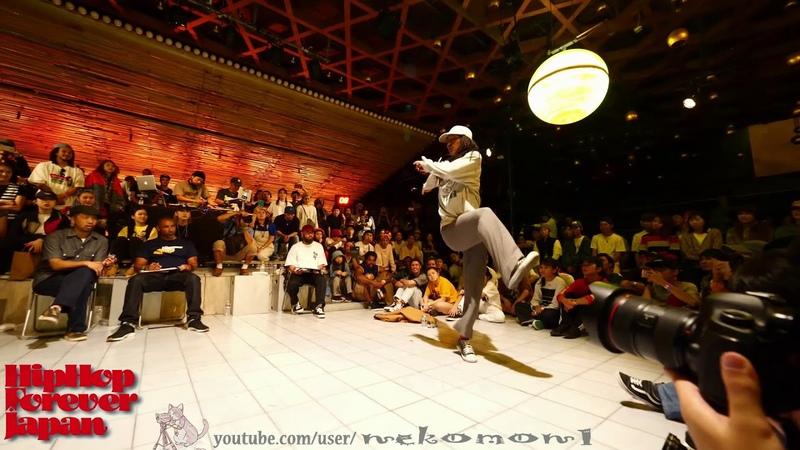 KYOGO vs oSaam FINAL Hiphop Forever 2018 JAPAN