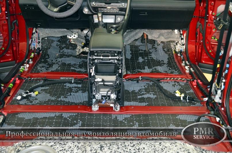 Комплексная шумоизоляция Lexus RX, изображение №4