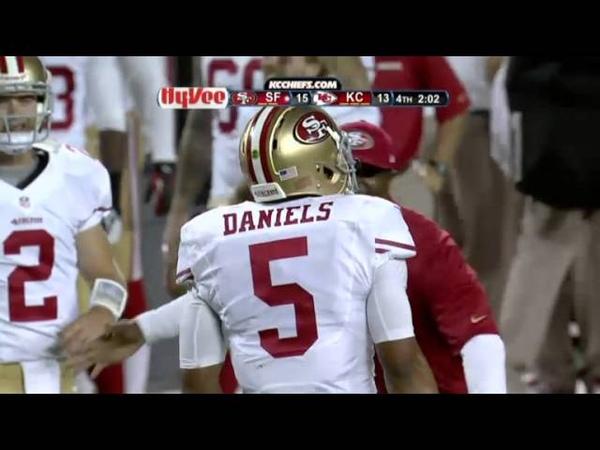 B J Daniels Game Winning TD Pass