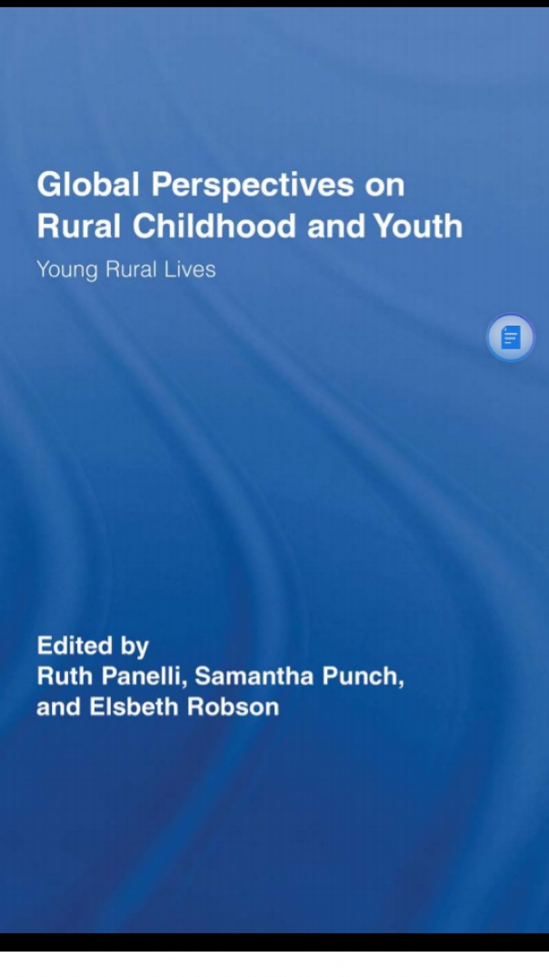 Global Perspectives on Rural Childhood and youth