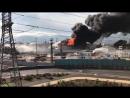 Lángra lobbant Izrael egyik legnagyobb benzintározója Haifában - 1