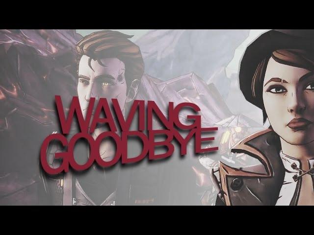 Rhys x Fiona TftB Waving goodbye