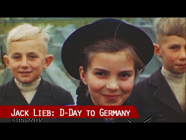 D-Day to Germany Cameraman Jack Lieb comments on original footage of 1944-45