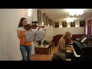 Король и Шут - Прыгну со скалы Кавер на скрипке и пианино