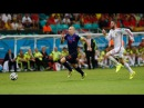 Robben's World Record Speed ● World Cup 2014 ● Fastest Run Ever