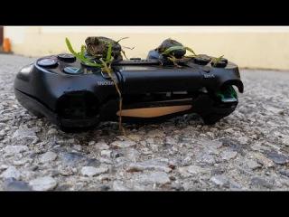 Playstation 4 Controller Crash Test