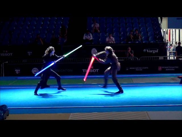 Star Wars duel on Fencing World Championships BEST SOUND