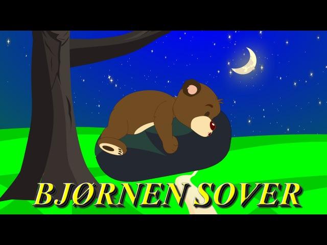 Barnesanger på norsk Bjørnen sover med mer