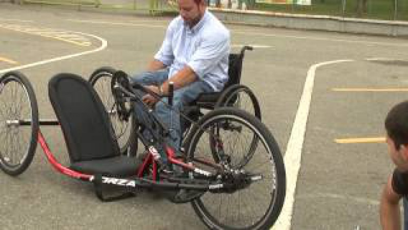Handcycle Colombia FORZA