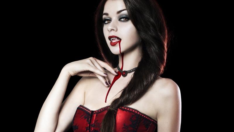 Девушки Вампиры Обои