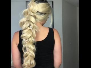 Великолепнейшая коса! И легко сделать)