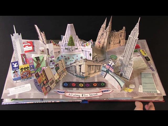 Pop-Up New York by Jennie Maizels Virtual Book Video