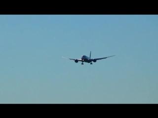 Boeing 787-8 Dreamliner Uzbekistan Airways Landing in Moscow Domodedovo_DME_UUDD