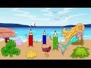 Мультфильм про водный мир с Русалочкой и Царевной Лягушкой Развивающие мультики