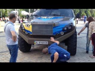 Мини обзор автомобиля VEPR. День Киева 2015