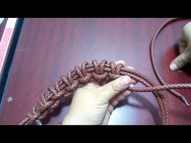Collar técnica Nudo de Alondra