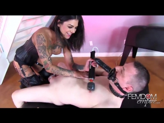 FemdomEmpirecom Bonnie RottenQueen Of Squirt 2015, Femdom, Live Dildo, Face Fucked, Facesitting, Squirting, Pissing, T [480]