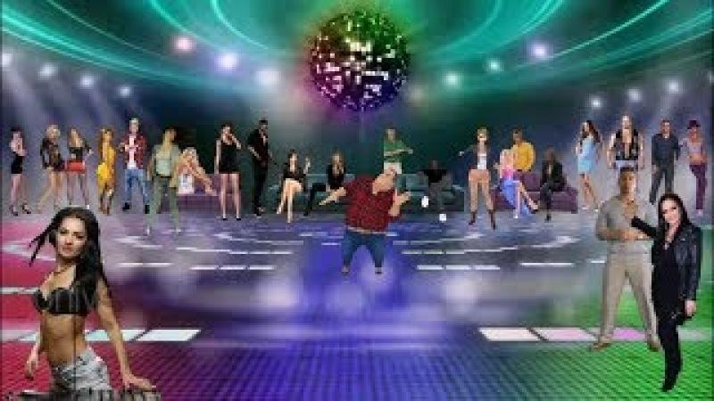 Лучшие хиты дискотек - луна луна (DJ VALALEX RMX)