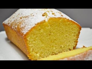Апельсиновый Кекс с Пропиткой   Orange cupcake with impregnation