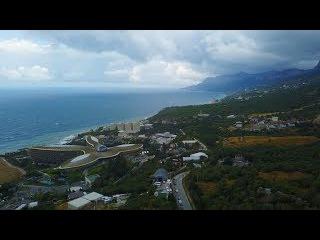Невероятный Крым.  Севастополь. Мангуп.  Ялта.  Мыс Фиолент.  Красивое видео