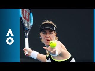 Anastasia Pavlyuchenkova v Kateryna Kozlova match highlights (1R)   Australian Open 2018