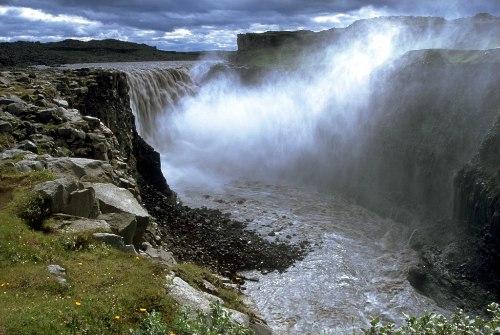Деттифосс (Dettifoss) — самый мощный водопад в Европе, изображение №8