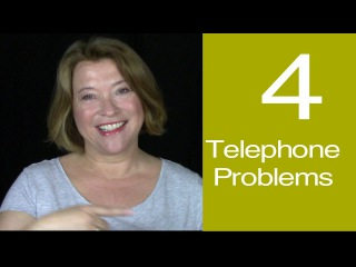Telephone English | 4 Problems And How to Fix Them