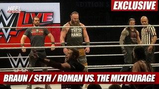 [WBSOFG] Roman Reigns, Braun Strowman, Seth Rollins vs. The Miz & The Miztourage [Highlights]