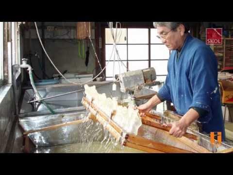 KOZO V   Японские обои ручного изготовления из бумаги васи