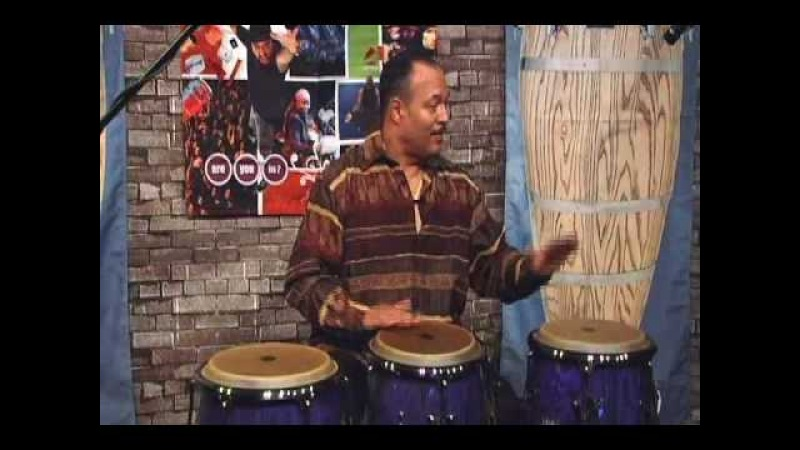 Technique for playing Three Congas by Steve Kroon