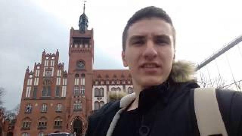 Slupsk Vlog Экскурсия городом смотреть онлайн без регистрации