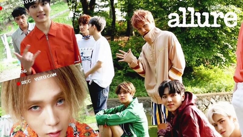 펜타곤 화보 촬영 비하인드 컷 PENTAGON Photoshooting behind cut | 얼루어코리아 Allure Korea