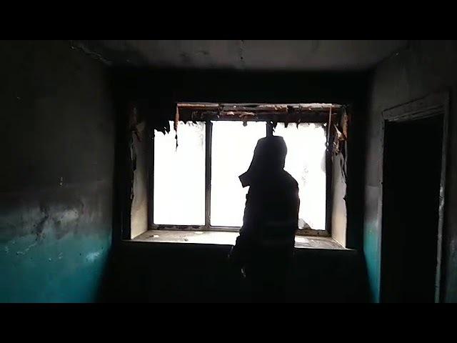 Пожар в общежитии в поселке Новоомском