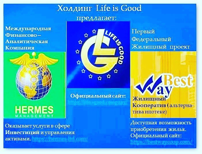 Компания life is good официальный сайт сайт о надежности компании