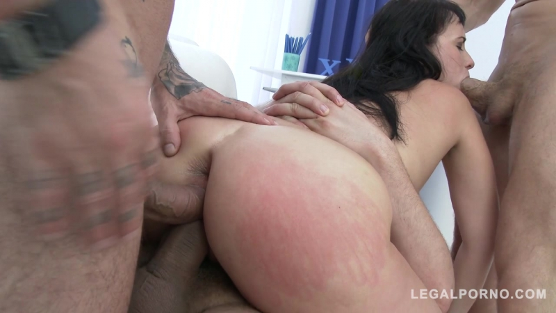 Curvy slut Tanika goes for wicked anal pounding double pussy ( PAWG anal