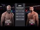 EA SPORTS UFC 2 Celebrity Deathmatch - Kratos-God of War v Yuri Boyka