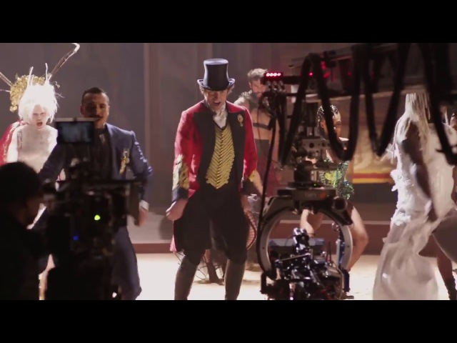 Behind The Scenes on THE GREATEST SHOWMAN Clips