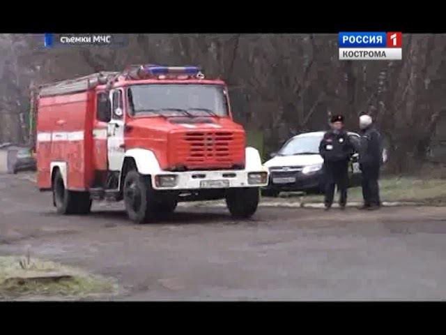 Костромские спасатели и городские службы провели совместные учения в областной