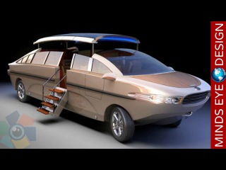 5 BIZARRE VEHICLES THAT ARE COMPLETELY AMAZING