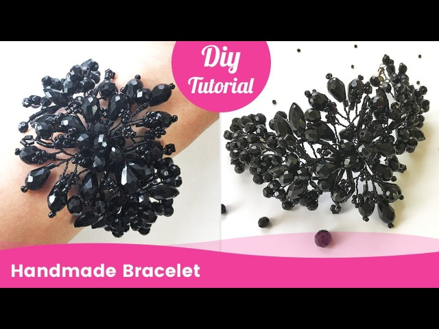 Handmade Bracelet from Beads and Wire DIY Gift Ideas