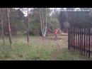 Ручная корчёвка деревьев, пней, часть 1.