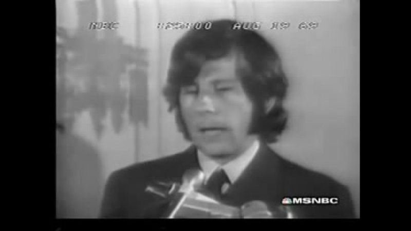 August 19 1969 Helter Skelter Newscast Charles Manson Family murders Backporch Tapes