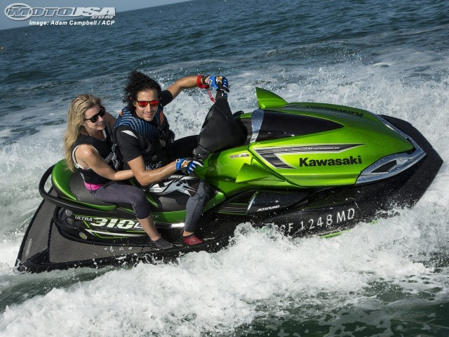 Kawasaki Jet Ski Ultra 310LX 310R First Ride - MotoUSA