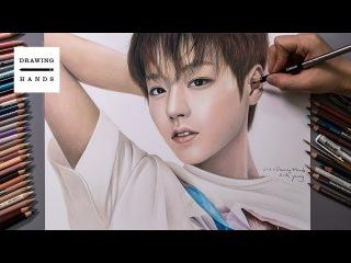 Speed Drawing Wanna One - Park Ji hoon [Drawing Hands]
