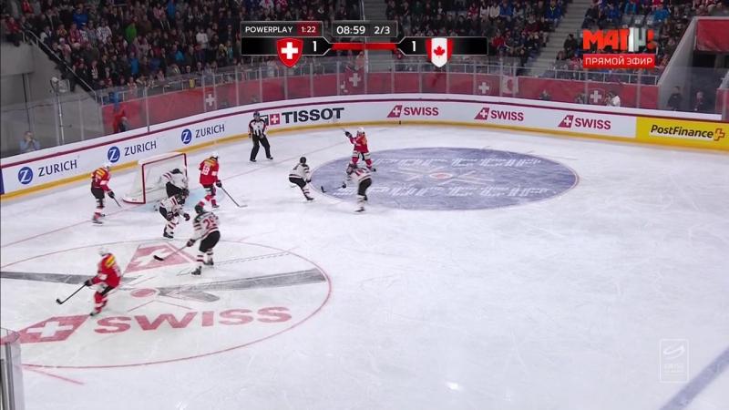 Кубок Карьялы. Швейцария - Канада
