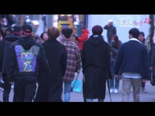 [RAW|VK][] MONSTA X arrive at Music Bank @ xportsnews
