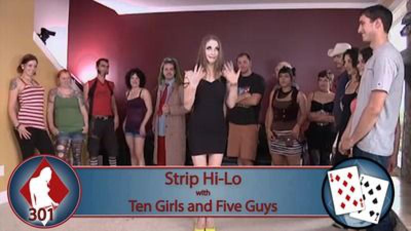 Strip game hi lo