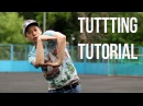 TUTTING TUTORIAL for beginners: SIMPLE DANCE COMBO 1